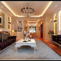巨华朗域四居室简欧风格——呼市鼎盛创典装饰