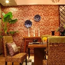 浓重的色彩,硕大的图案,带你领略风情万种的东南亚