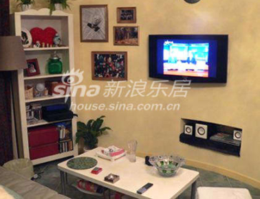 电视墙和展示柜