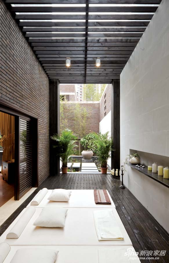 上海万科第五院别墅户型新中式风格设计,上海奥邦装饰设计总监陈浩作品