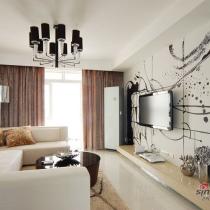 9万打造110平温馨复式 随性自然的黑白舒适家居