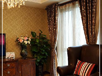 乡村风格中非常重要的运用元素,本色的棉麻是主流,布艺的天然感与乡村风格能很好地协调;