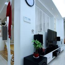 客厅电视墙电视柜