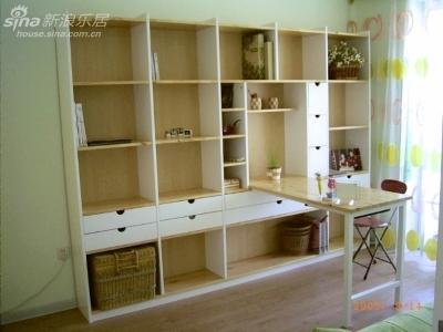 环保材料的书柜