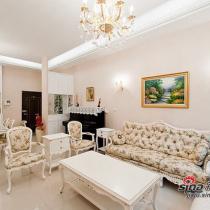 欧式田园125平塑造完美居室