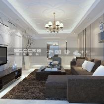 大户型家庭装修【时代城】150平现代简约装修|青岛实创装饰