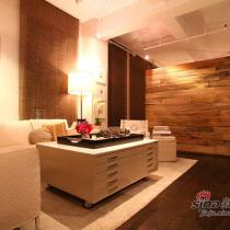 155平温馨舒适之家 时尚设计师秀美宅