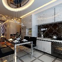 190平四居室现代简约风格