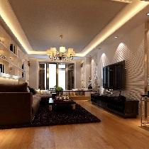 石板蓝低调奢华打造新华联家园124平新旧对比照