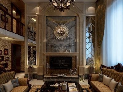 哈尔滨实创14万打造香醍雅诺loft 146欧式家居