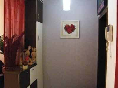 墙上的玫瑰心也是妈妈的杰作