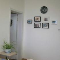 客厅的照片墙,虽然不是很成功,但是是我最喜欢的地方,有很多美丽的回忆。