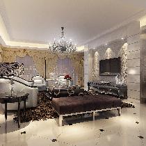 锦绣香江现代欧式风格(250平米)