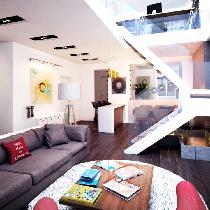 """【白色纯净】现代简约180平米顶层复式""""婚房设计"""""""