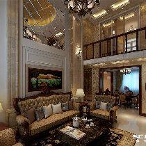 【上海实创装饰】中海万锦城146平欧式风尚复式之家
