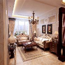 浓郁的欧式三居室设计