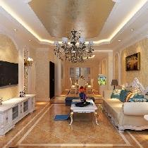 哈尔滨实创12万打造巴黎第五区154平浪漫的欧式风情