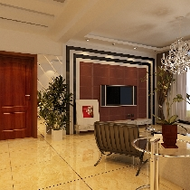 广安康馨家园五万六打造108平米现代简约风