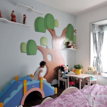公主房装饰墙
