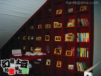开放区的书房