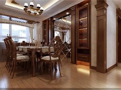 中年商人20万打造古典中式居室