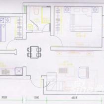 色彩至上的简约复式家