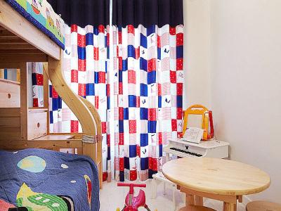 105平简约混搭3居的动人故事——儿童房