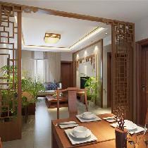云星钱隆江南 餐厅 优雅中式风格装修案例