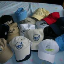 俺门家可以开个高尔夫用品小店拉,这些帽子上有很多世界级一流高尔夫选手的签名.