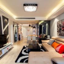 小夫妻80平优雅时尚婚房 自由温暖的幸福空间