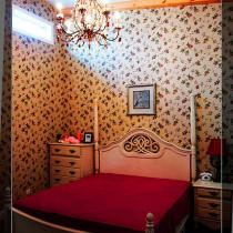 3楼的卧室一直找不到合适的角度来拍一个全景,这个房间也是最有田园风格的了