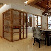 餐厅及半开放式厨房