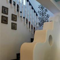 波浪型楼梯
