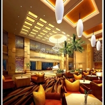 酒店餐厅装修效果图