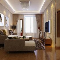 10.3万137平米现代家庭温馨三居室