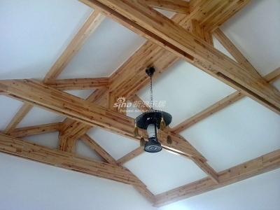 二楼客厅被我改成了茶室 吊顶
