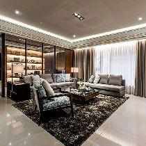 【上海实创装饰】安亭212平大平层后现代气质美宅