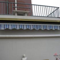 平台西墙遮阳篷