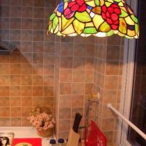 偶最喜欢的卓凡尼灯,黄昏时在它下面洗菜也是享受哦