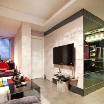 30平超迷你单身公寓 跳脱传统思维设计