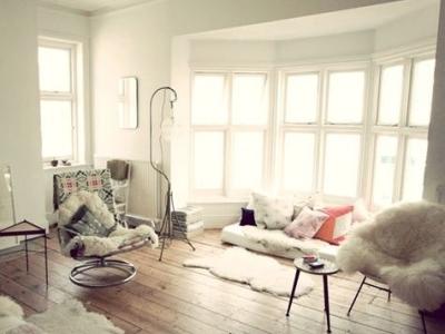 软软暖暖的客厅