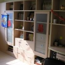100%自己设计的书柜