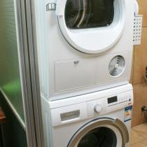 洗衣机+干衣机,不占地方,方便好用