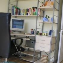 书房(电脑桌椅共1070元)