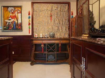英郡雷丁别墅户型美式风格装修实景展示,上海奥邦装饰设计总监陈浩作品咨询预约电话15800615719