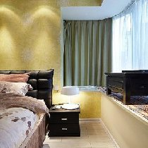 接下来看看卧室吧~整体感觉还是比较简约现代~