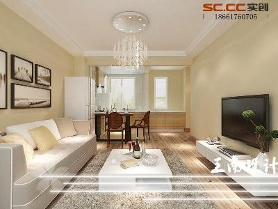 【八大峡老房】两居室现代简约风格