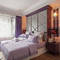 浪漫紫色优雅卧室