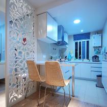 旧房改造90平米现代简约装修案例