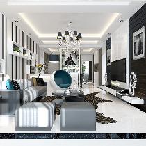 150-200平米大户型 客厅装修